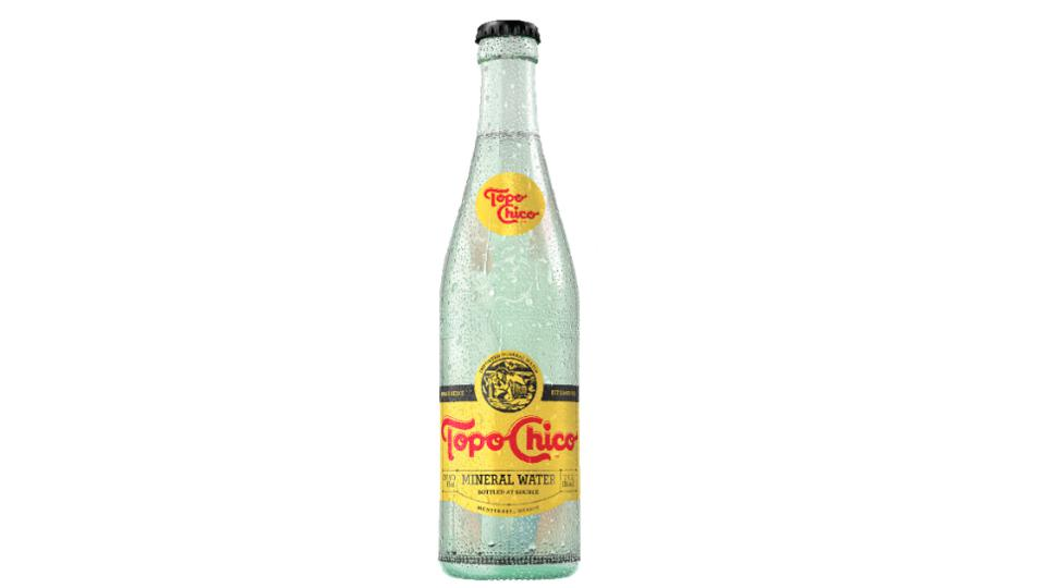 COCA COLA, TOPO CHICO, SPARKLING WATER