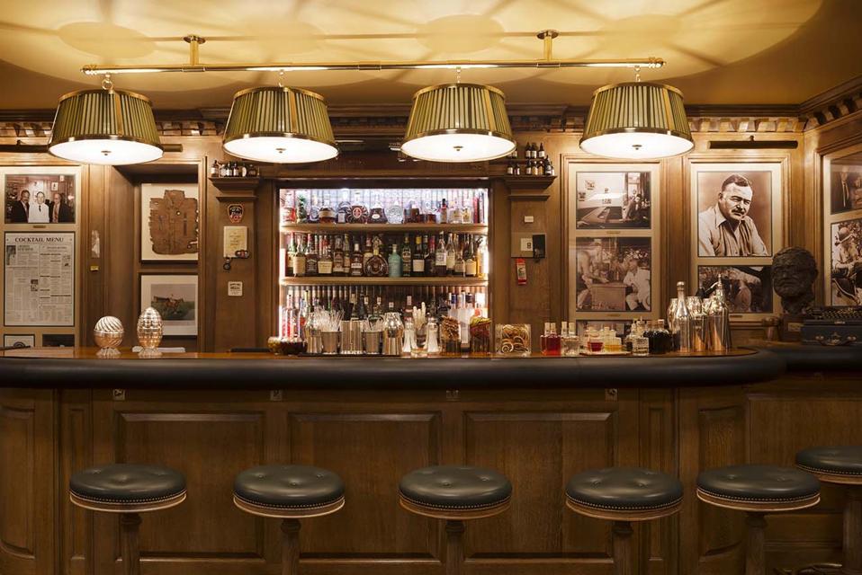 Historic Drinks: Inside Bar Hemingway, One Of Paris' Most Storied Venues