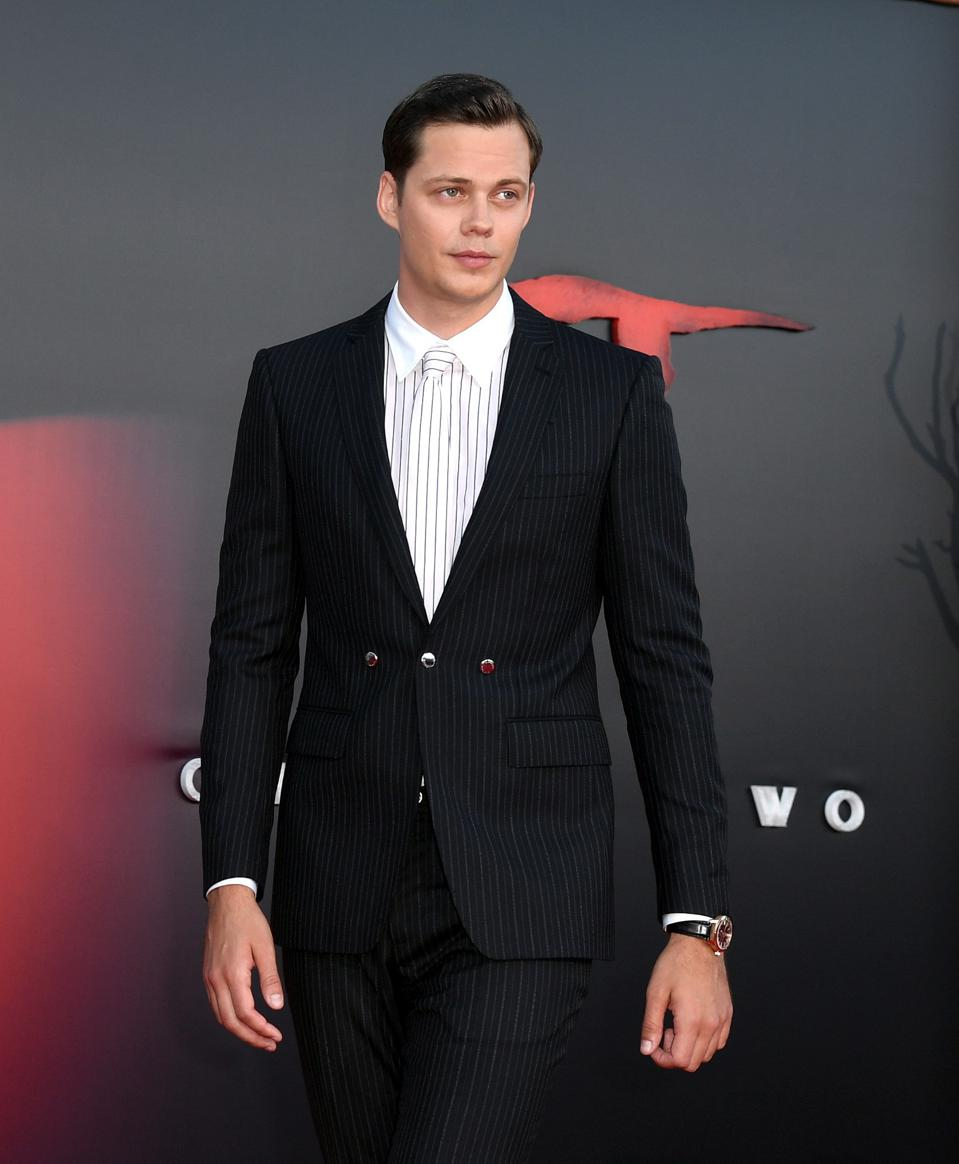 Actor Bill Skarsgard Dons IWC At Premiere of 'It Chapter Two'