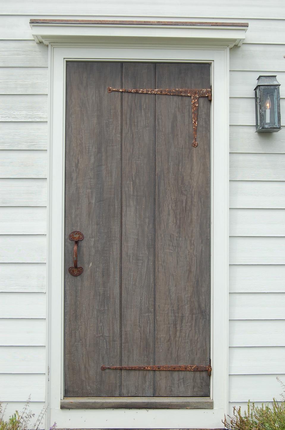 The Feake-Ferris House front door.