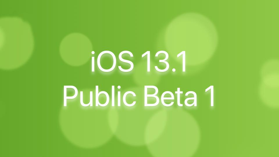 Surprise iOS 13.1 Public Beta 1 Gives Us iPhone 11 Release Hints