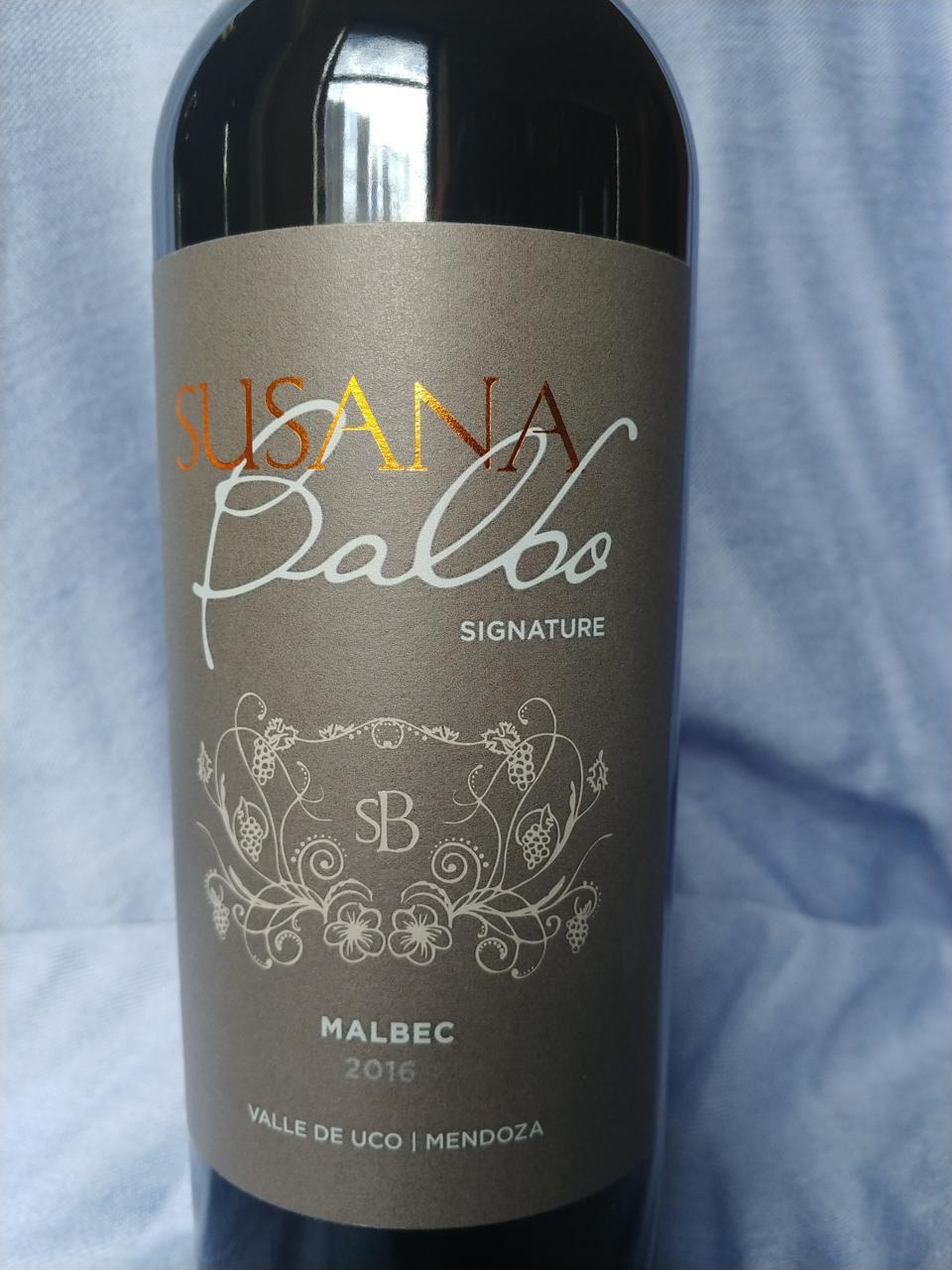 2016 Susana Balbo's Signature Malbec