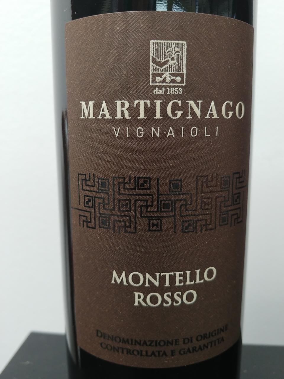 2016 Martignago, Rosso Montello DOCG