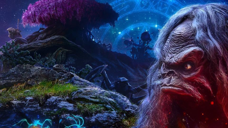 Fantasy Art Crystal Monster