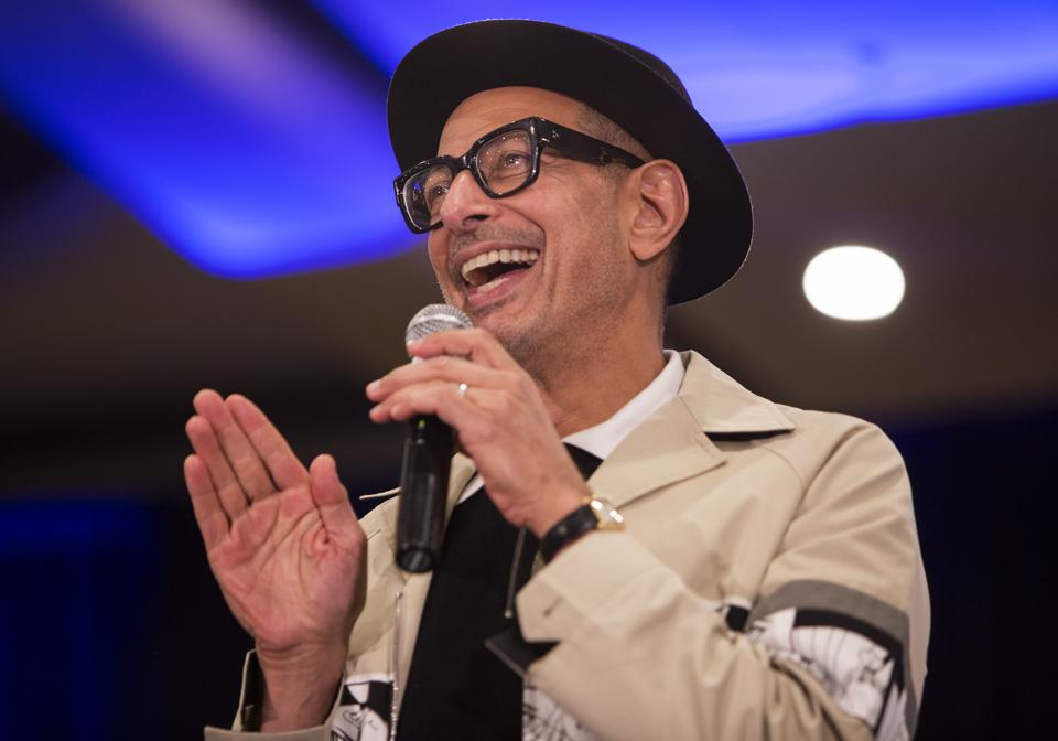 Jeff Goldblum on stage at Wizard World Chicago. Saturday, August 24, 2019 at the Donald E. Stephens Convention Center in Rosemont, IL (Photo by Barry Brecheisen)
