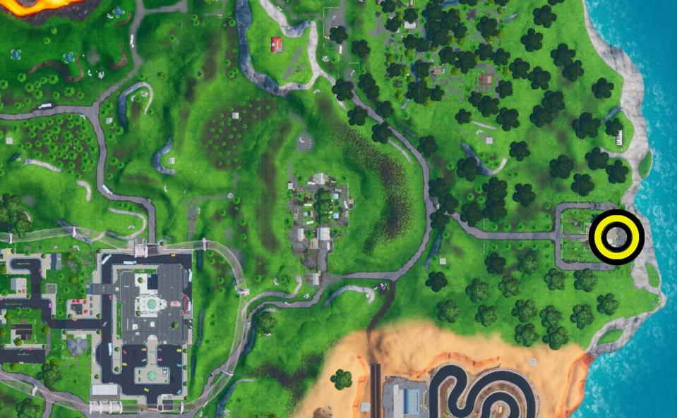 Fortnite Map Location: Where To Land At A Run Down Hero
