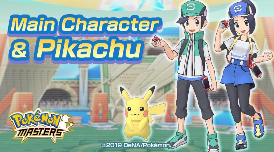Image result for pokemon masters video game