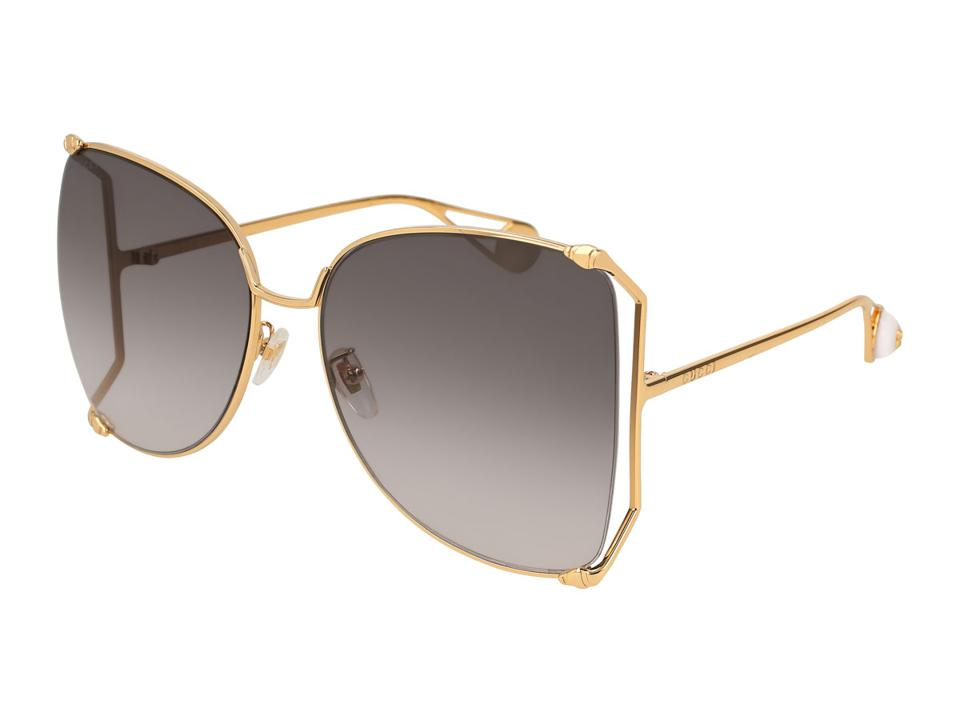 GUCCI Metal Butterfly Sunglasses