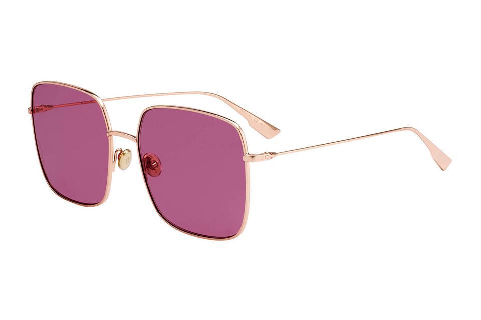 DIOR Diorstellaire Square Metal Sunglasses