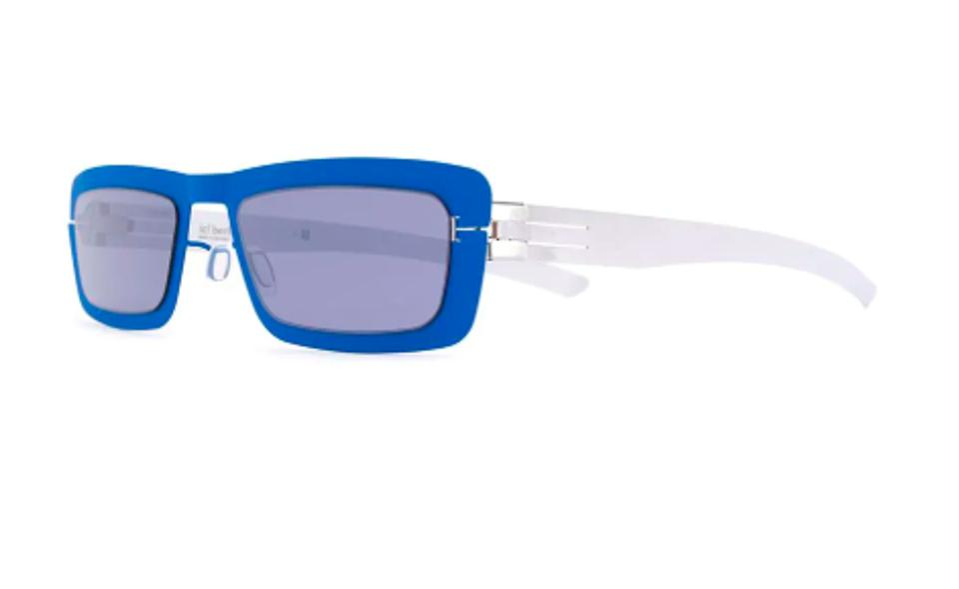 IC BERLIN Prism Rectangular Sunglasses