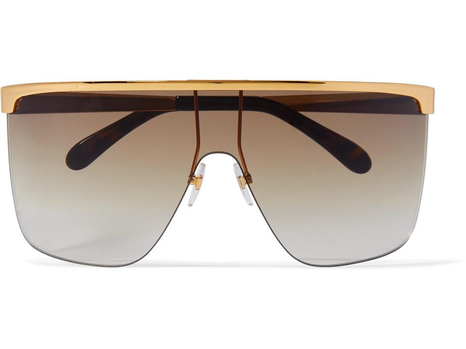 GIVENCHY D Frame Oversized Sunglasses