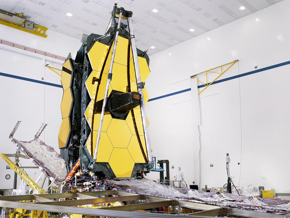 NASA's James Webb Space Telescope Is Finally Fully Assembled