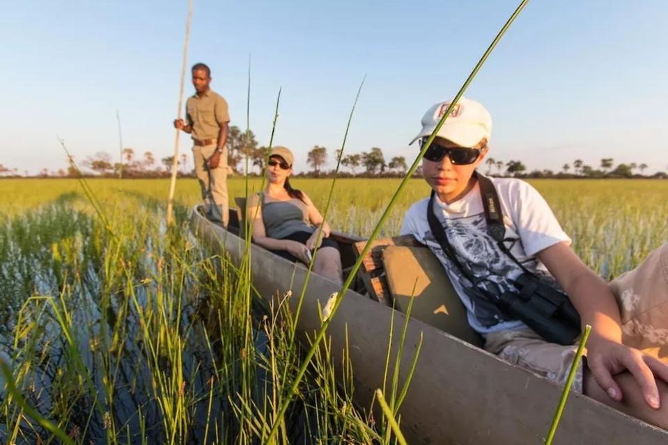 Seba Camp.  Okavango Delta.  Botswana.