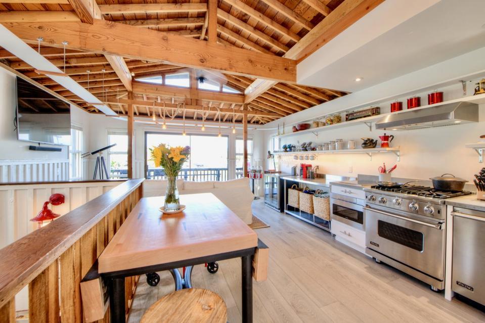 Interior, Sausalito houseboat