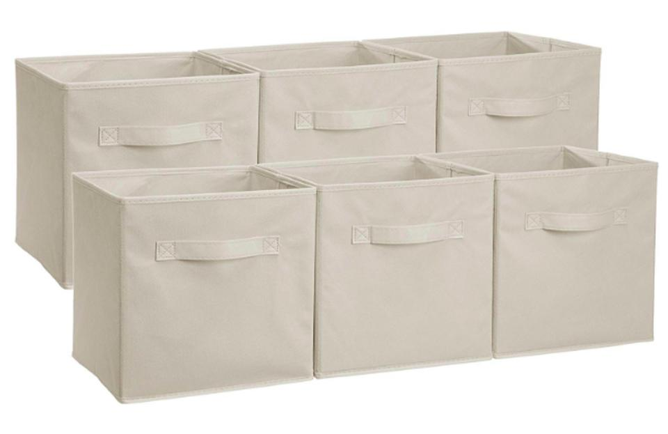 AmazonBasics Foldable Cloth Storage Bins
