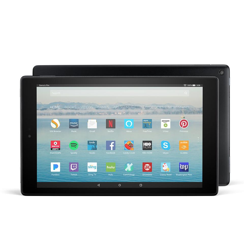 Amazon Fire HD 10_Best Tablets Under $200