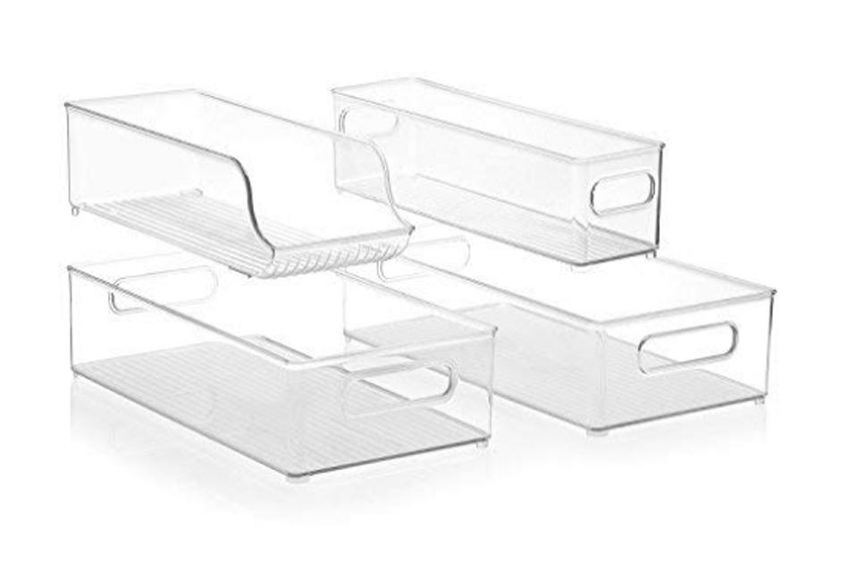 InterDesign Stackable Organizer Bins