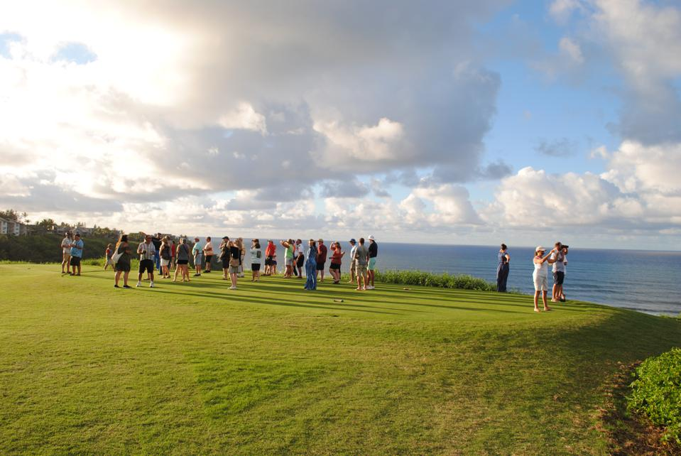 Sunset Golf Tour guests