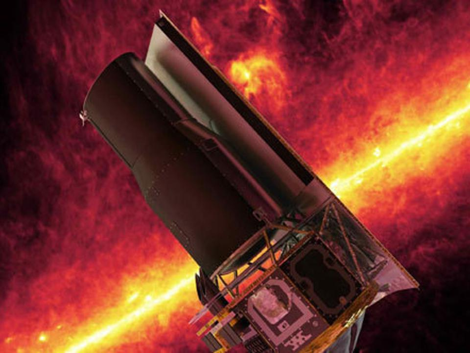 Start Your Weekend With These Space Images From The Spitzer Space Telescope