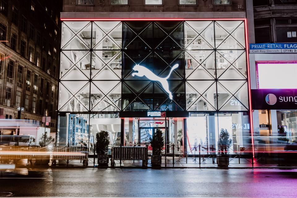 The new PUMA flagship store on 5th Avenue