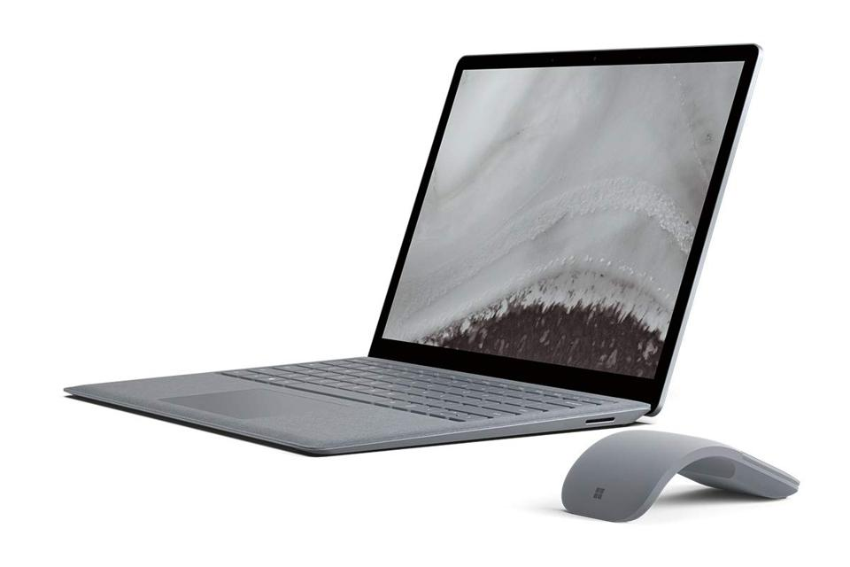 The Microsoft Surface Laptop 2 entry level model.