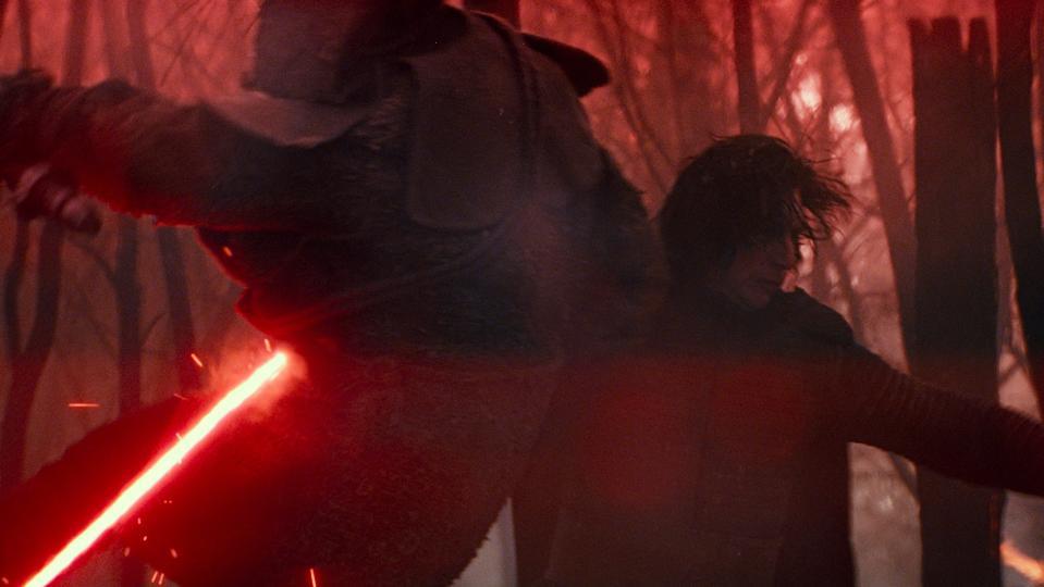 Kylo Ren (Adam Driver) in STAR WARS: THE RISE OF SKYWALKER