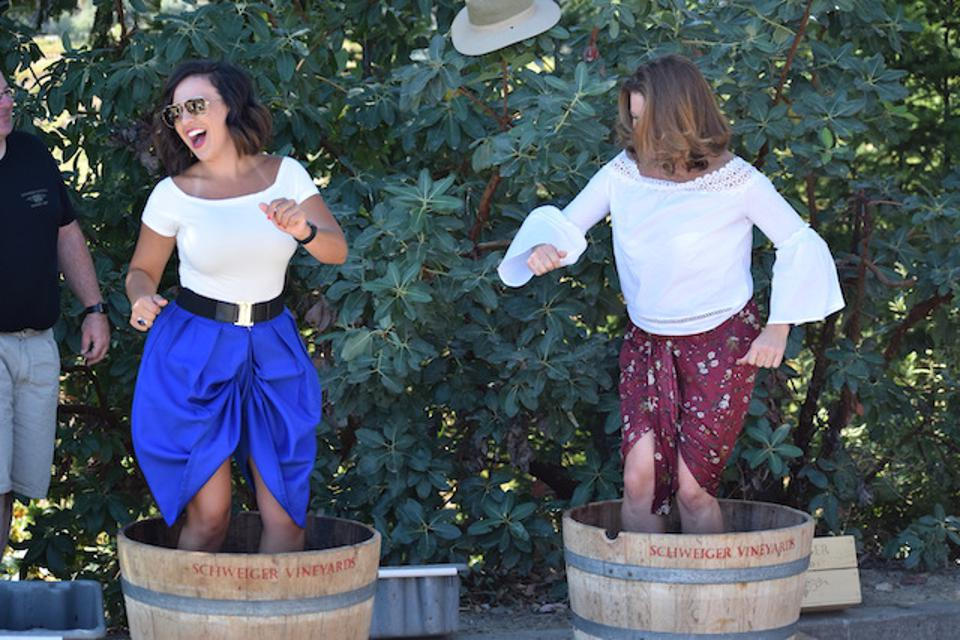 Get Messy And Stomp Some Grapes During California Wine Month