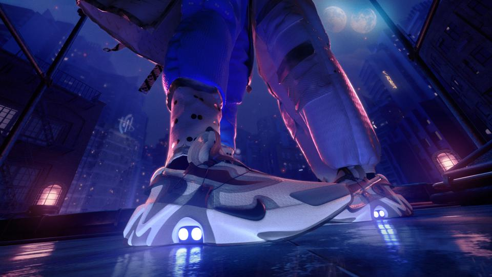 Nike first started the self-tying shoes with the HyperAdapt, but now with their latest sneaker adjustments will be able to make hands-free on the fly.