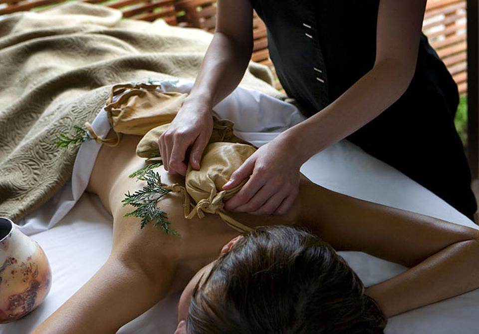 Sacred Waters Massage. Aspira Spa. Osthoff Resort. Signature Treatment.