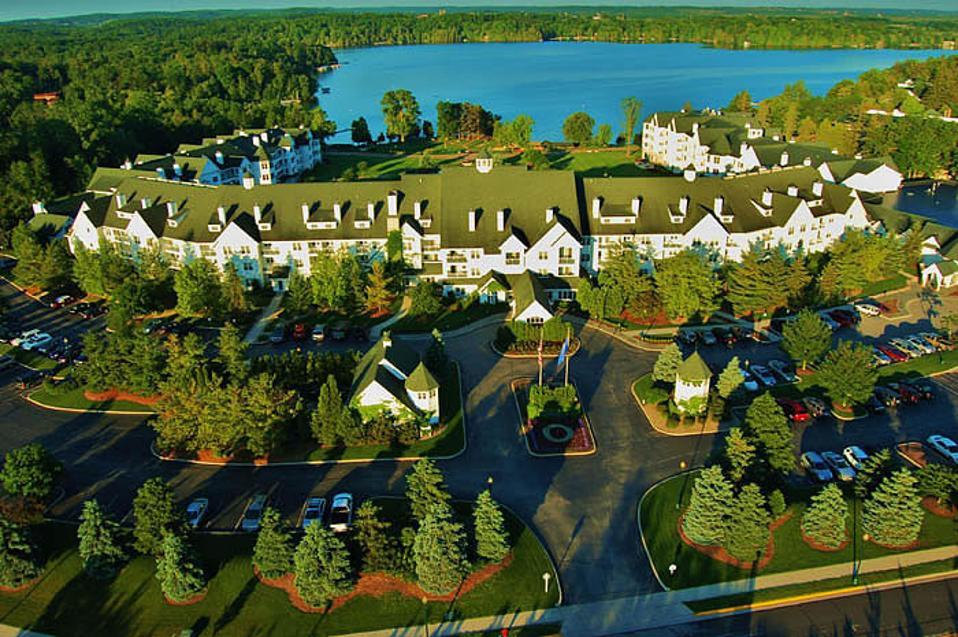 Osthoff Resort. Wisconsin. Elkhart Lake. AAA-Four Diamond.