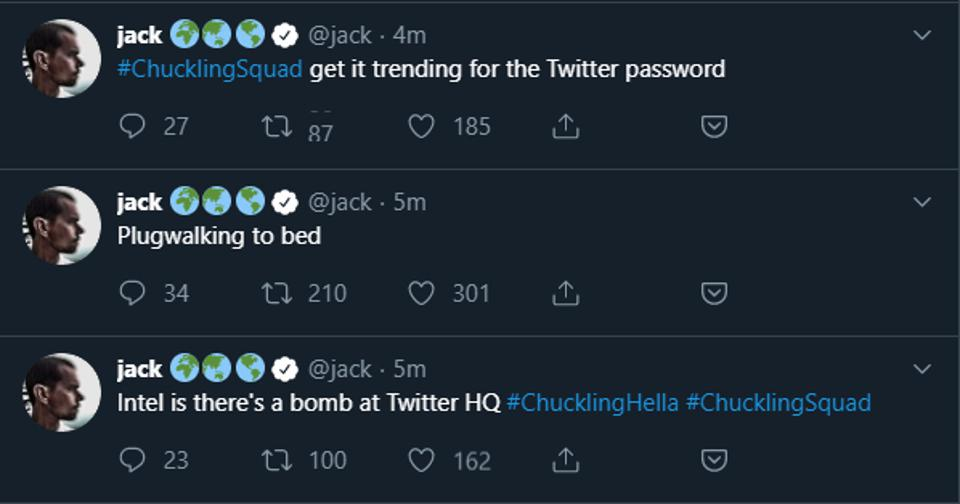 Twitter CEO Jack Dorsey was hacked on Friday afternoon before Labor Day weekend.