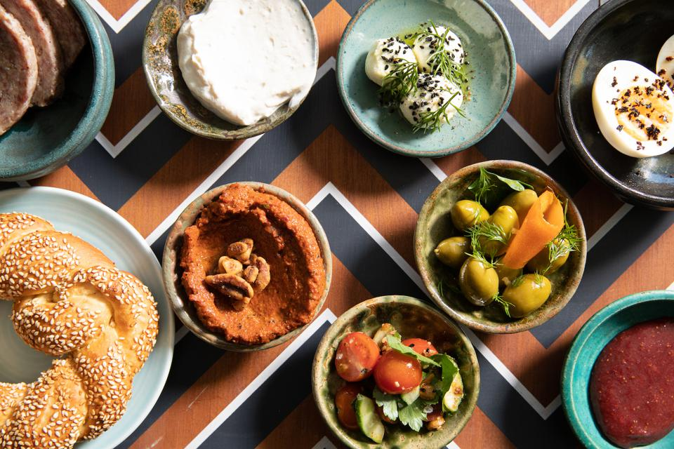Turkish Breakfast at Cira at The Hoxton, Chicago