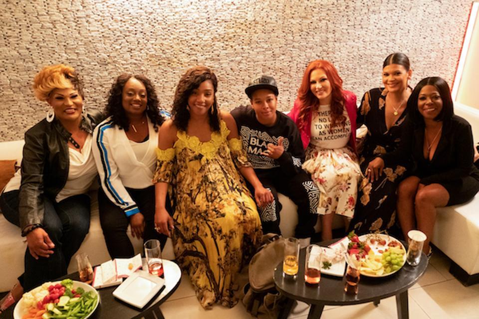 The women of Tiffany Haddish's 'They Ready'
