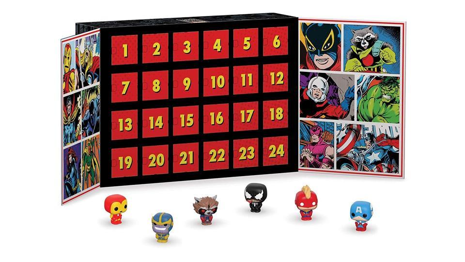 Funko Pop Marvel Advent Calendar