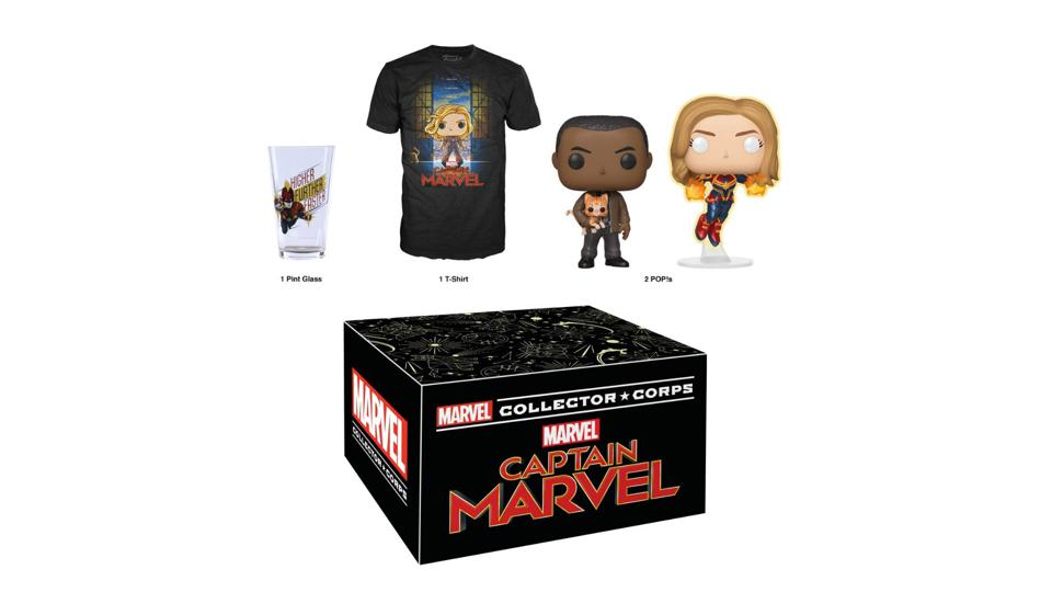 Marvel Collector Corps Captain Marvel Box