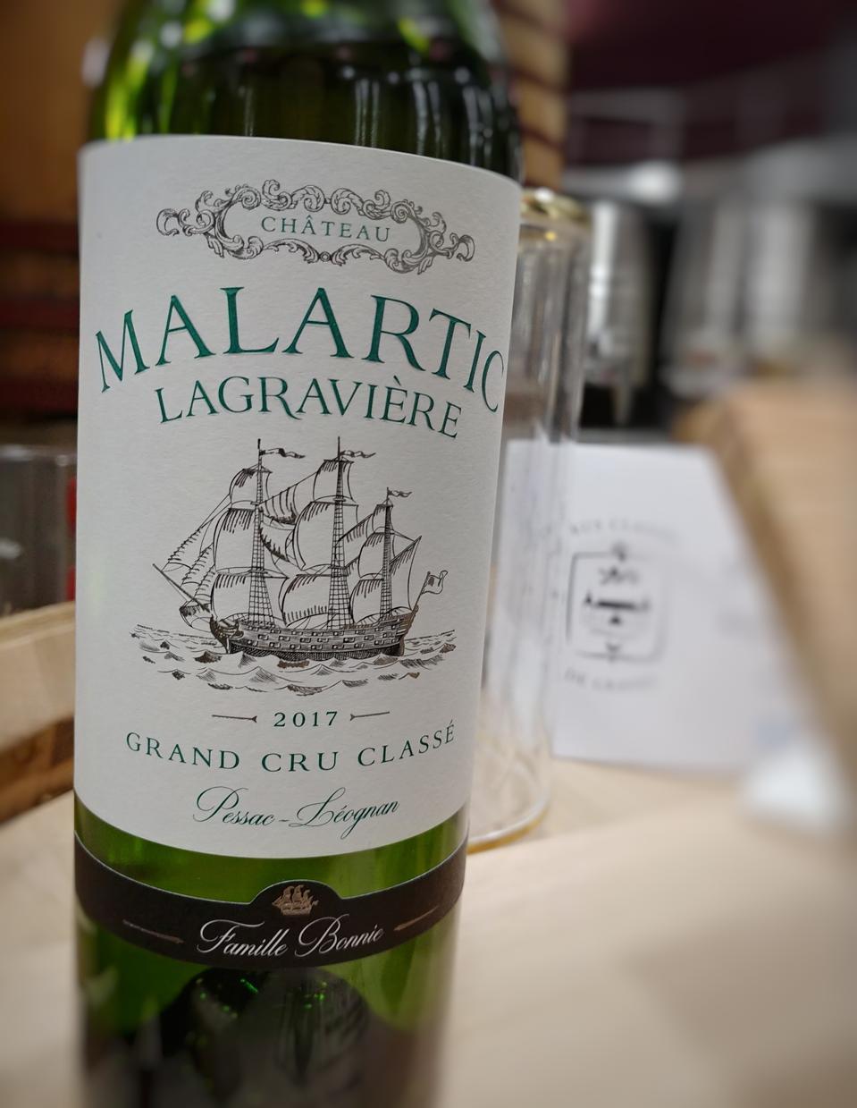 2017 Château Malartic-Lagravière