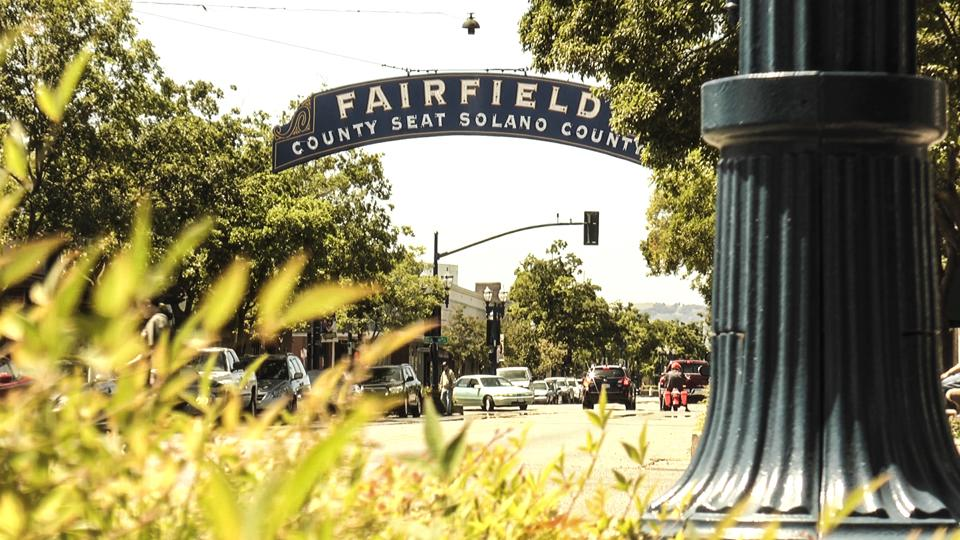 Sign of Fairfield