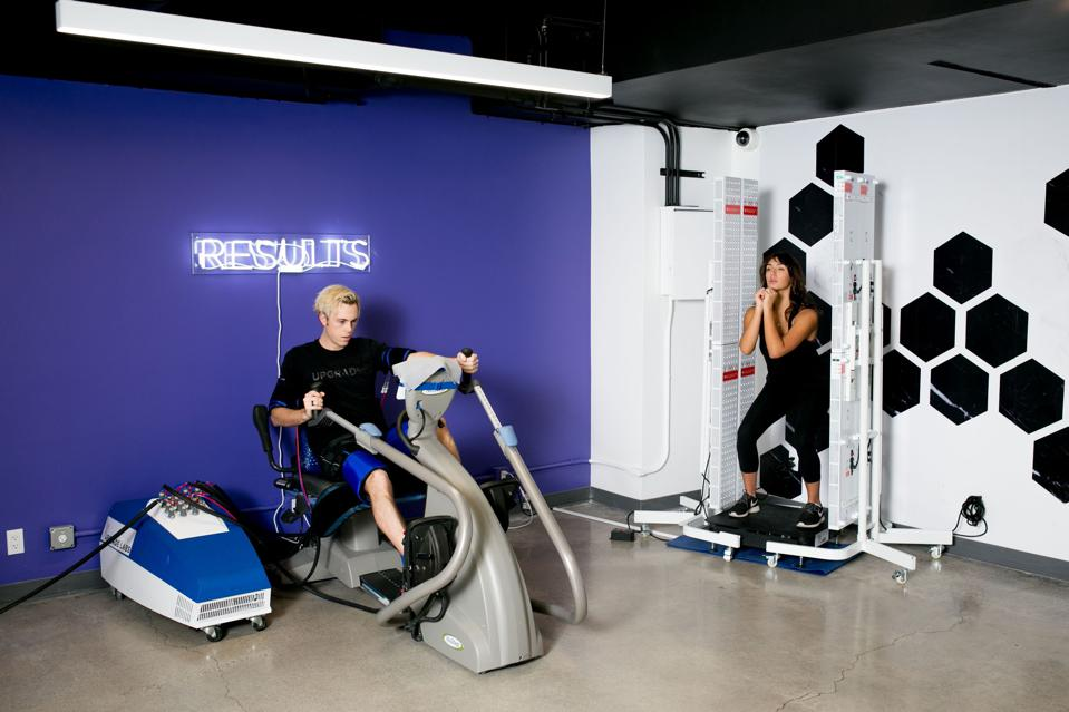 Upgrade Labs, the hotel gym at The Beverly Hilton
