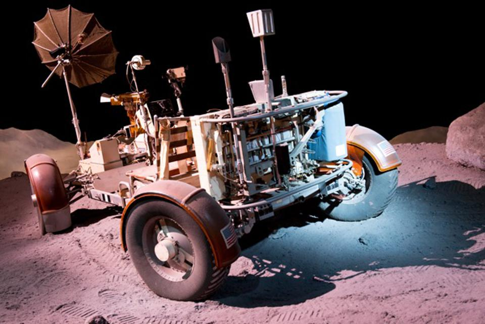Lunar Roving Vehicle trainer.