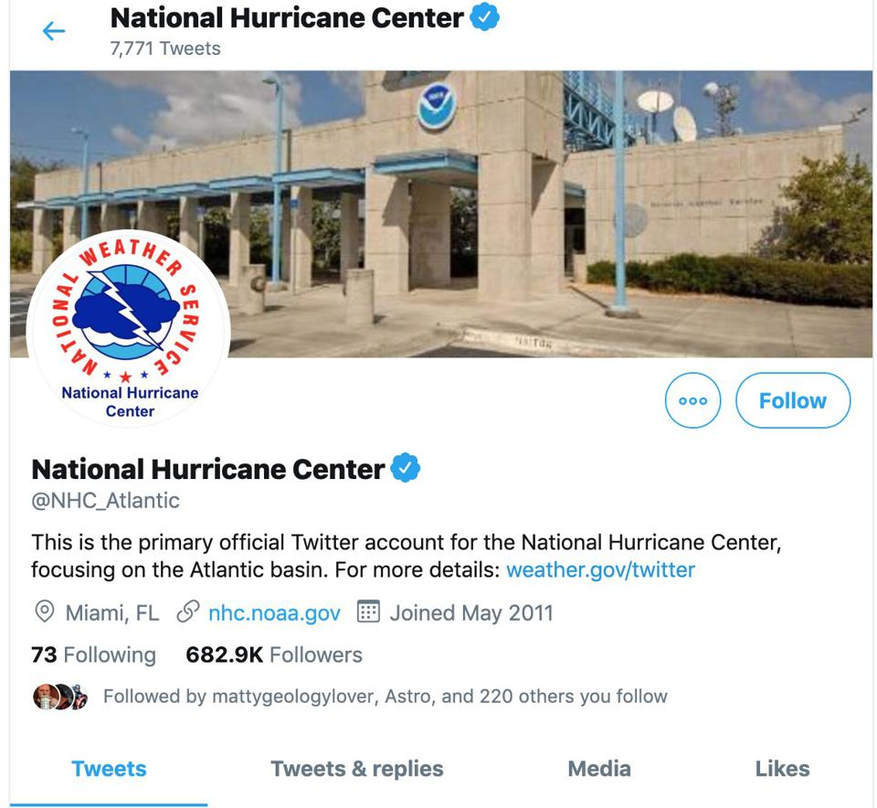 Alabama's NWS Had A Perfect Response To Trump's Dorian Tweet