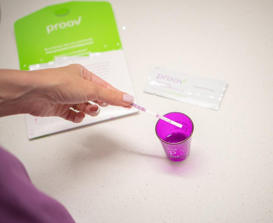 Proov Progesterone Test kit - by MFB Fertility