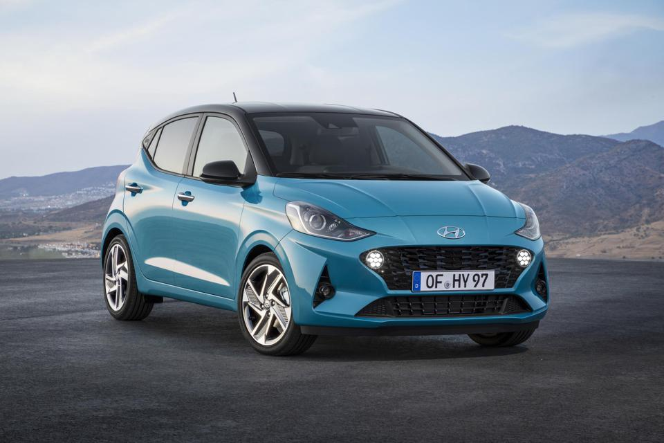 The Hyundai i10 will debut in Frankfurt