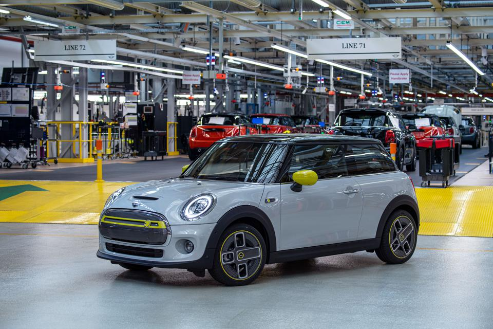 The Mini electric will be launched in Frankfurt