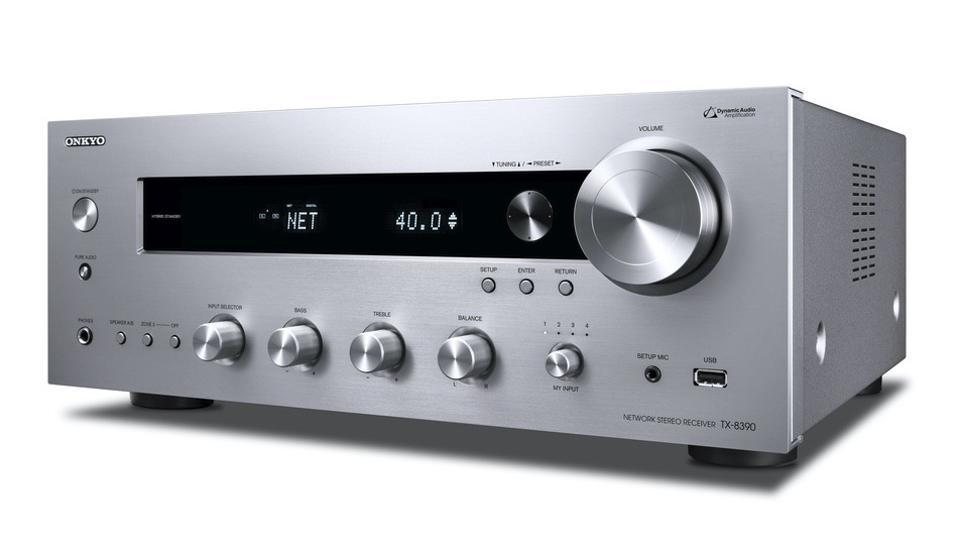Onkyo TX-8390 three-quarter