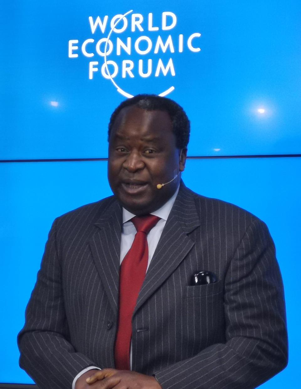 South African finance minister Tito Mboweni