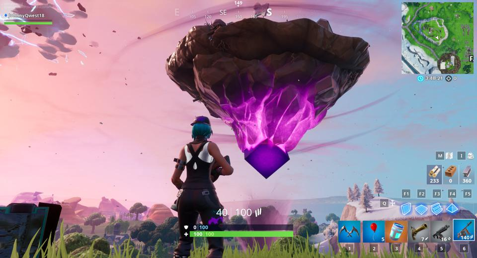 Fortnite's Cube Has Returned, And It's Brought Back The