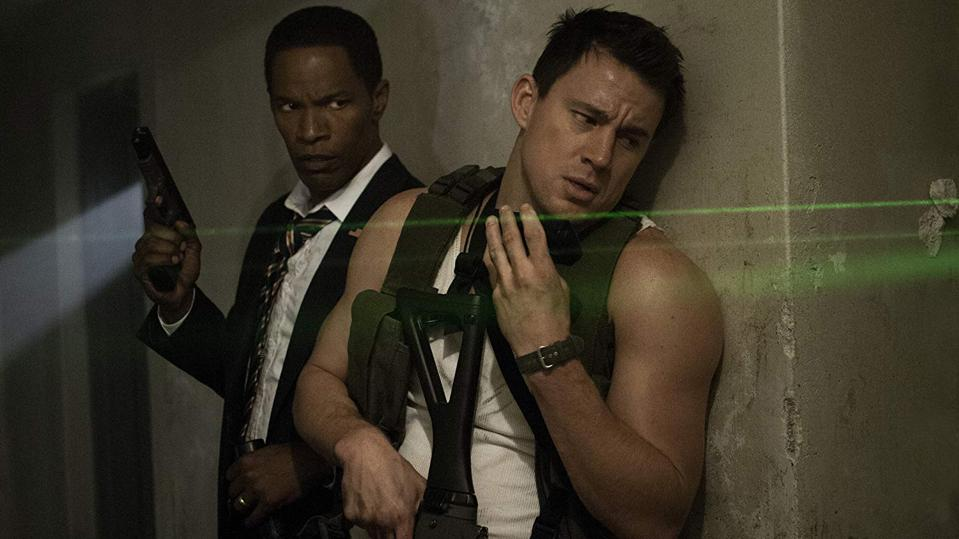Channing Tatum and Jamie Foxx in 'White House Down'