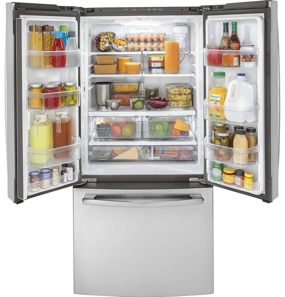 GE GWE19JSLSS French Door Refrigerator
