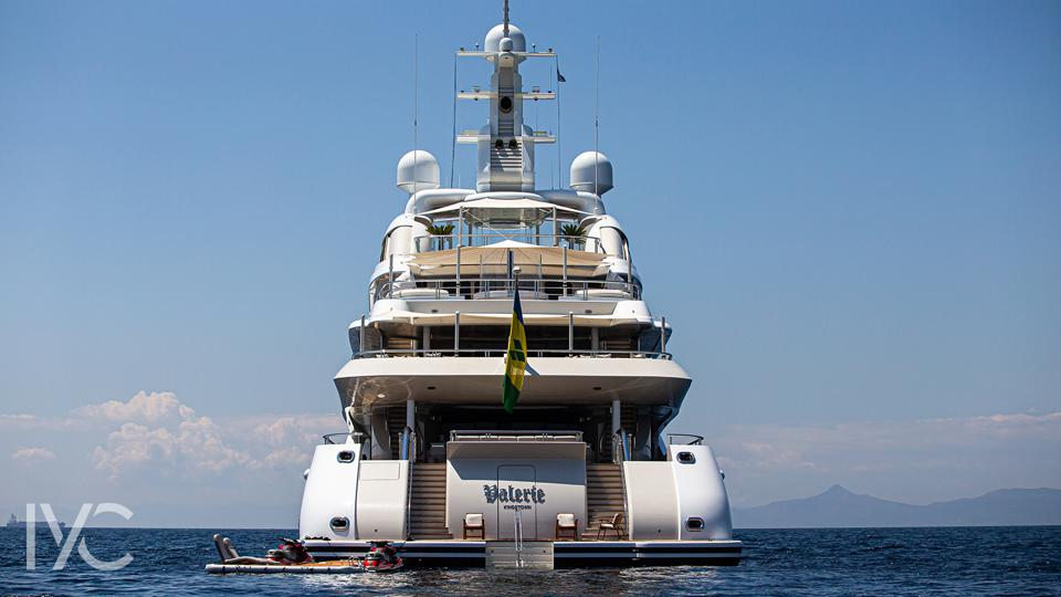 VIP's will see what Valerie's interior looks like at the Monaco Yacht Show this month.