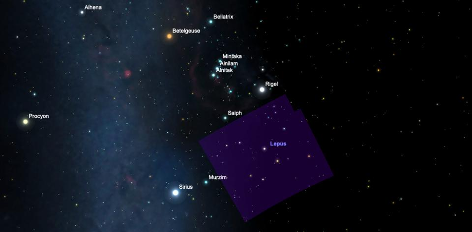 WASP-49 is about 550 light years away in the constellation of Lepus, just below Orion's Belt if you're stargazing from the northern hemisphere).
